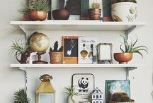 shelves / There are so many pretty shelves out there and I want to get inspiration for how they are styled!