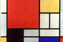 Art, Mondrian, Piet / by Brenda Davis