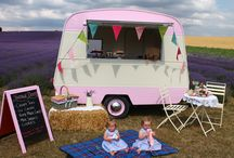 Meet Dotty the Vintage Caravan / The perfect accompanyment to your wedding or special event!! Dotty can provide a bespoke menu to suit your needs and means we can do as much or as little as your event requires. From serving reception drinks to afternoon teas, ice creams and everything in between Dotty and her staff will ensure your event is delivered with style and charm.