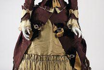 Women, Dresses, 1870s