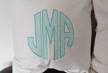 31 Embroidered Pillows #canadianbaglady