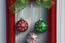 Wreath ideas: Christmas