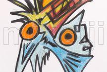 Ichthyoform Mikolji Artwork Series