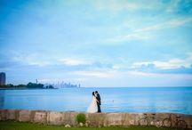 Promontory Point Chicago Wedding / Wedding at Promontory Point in Chicago, IL