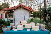 Moodboard Kake og gavebord Bryllup AM+G