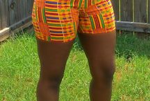 Ankara shorts / Follow for the best Ankara short styles