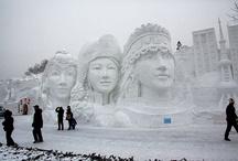 Ice/snow sculptures