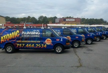 Premium Plumbing Services / Commercial and residential plumbing services in Virginia Beach, Norfolk, Chesapeake, and throughout the Hampton Roads. Call Atomic Plumbing for all you plumbing needs!