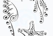 dibujos siluetas