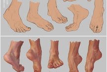 Reference Anatomy / Feet, Hands, Heads and body parts