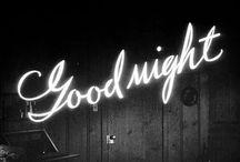 la nuit ...