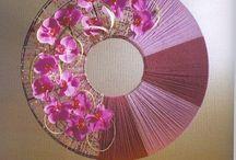 Oriental flowers style