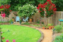 backyard ideas / by Barbie Santana