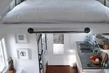 Mini apartamento e/ou Mini casa / Aproveitamento de espaços pequenoa