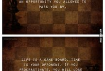 Chess... well learned life skills
