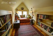 Attic Ideas / by Laura Kiernan {JourneyChic.com}