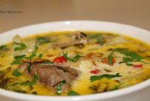 ciorba și  supe