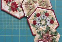 Sewing Home Goods / Home decor, pillows, pot holders, wall hangings, etc...