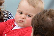 Prince William, Kate, George & Charlotte