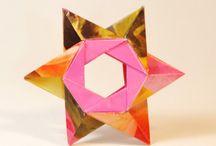 Origami star 1 *