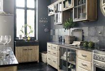 Kitchen / Kuchyně, vybavení a typy
