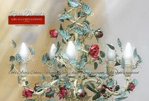 Wrought iron roses - Handmade in Florence
