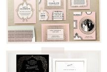 Wedding Invitations & Programs we love by SanDiegoWedding.com / Wedding invitations programs place cards and printables