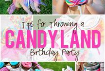 Candy Themed  Parties