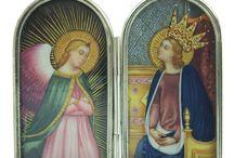 Icone in argento / Icone realizzate in argento e dipinte a mano. Sono tutte pezzi unici...