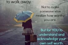 Self worth/walk away quotes