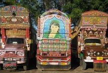 Lorry art