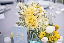 :: Soft Blue & Yellow Weddings ::