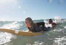 Learn to Surf / We will help you understand anything from riptide and waves to how to catch your first wave.