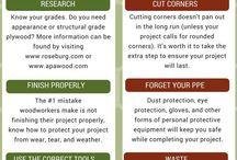 General woodwork tips