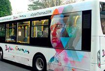 bus ad