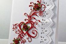 Cards - Heart flourish