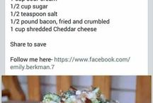 Salad serves