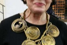 "Jewelry - COLLECTIONNEUSES / these ""crazy"" people who LOVE & COLLECT contemporary jewelry .... usually, BOLD jewelry .... ;-)"