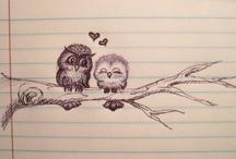 Hoo else loves Owls / by ༺♥༻ Charlotte Hill Edsall ༺♥༻
