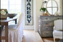 wood signs / by The French Farmhouse