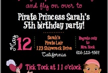 Pirate Birthday for Addyson / by Lori Klaus