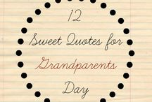 Grandparent Goodies / Celebrate Grandparents year round with these books, crafts, activities and more! / by White House Nannies