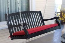 Enjoy the Warmth of the Family Along With Porch Swings