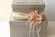 Wedding Extras / Gift card boxes, pillows and more! / by Liven It Up Events
