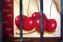 Pintura Frutas y Verduras