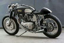 Motorfietsen Caferacer