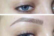 Makeup and tattoo