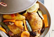 Recette tajine de poulet