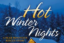 Hot Winter Nights: A Bear Mountain Rescue Story / The Bear Mountain days are cold, but the nights are steamy....  Allie Fairchild made a mistake when she moved to Montana. Her rental is a mess, her coworkers at the trauma center are hostile, and her handsome landlord, Dex Belmont, is far from charming. But just when she's about to throw in the towel, life in Bear Mountain takes a surprisingly sexy turn....  BookShots Flames Original romances presented by JAMES PATTERSON Novels you can devour in a few hours Impossible to stop reading.
