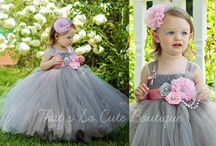 Bridesmaid / Flower dresses